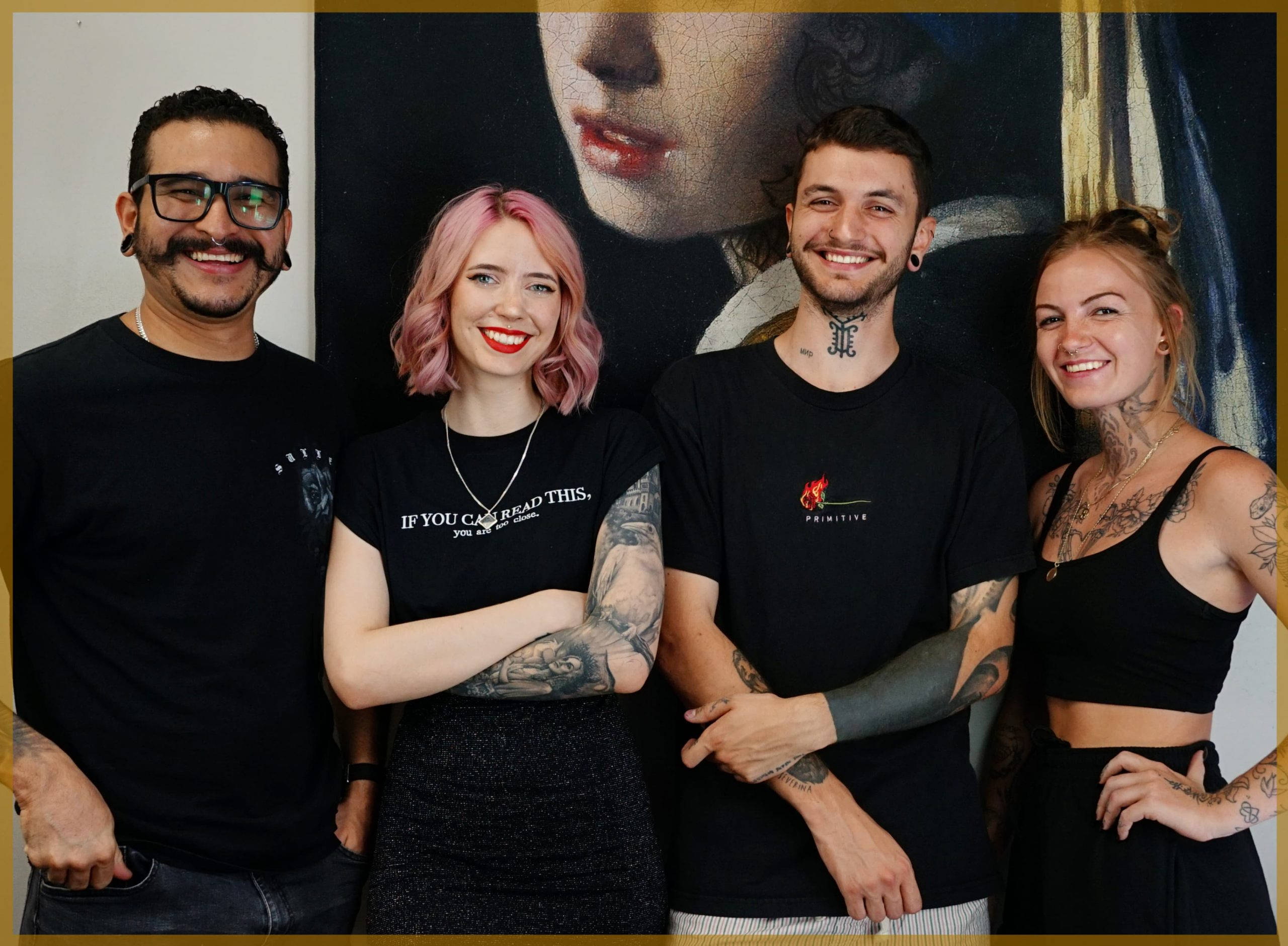 Groeps foto Lucid Creations Tattoo
